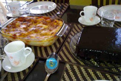 Lasagna Dan Chocolate Kek