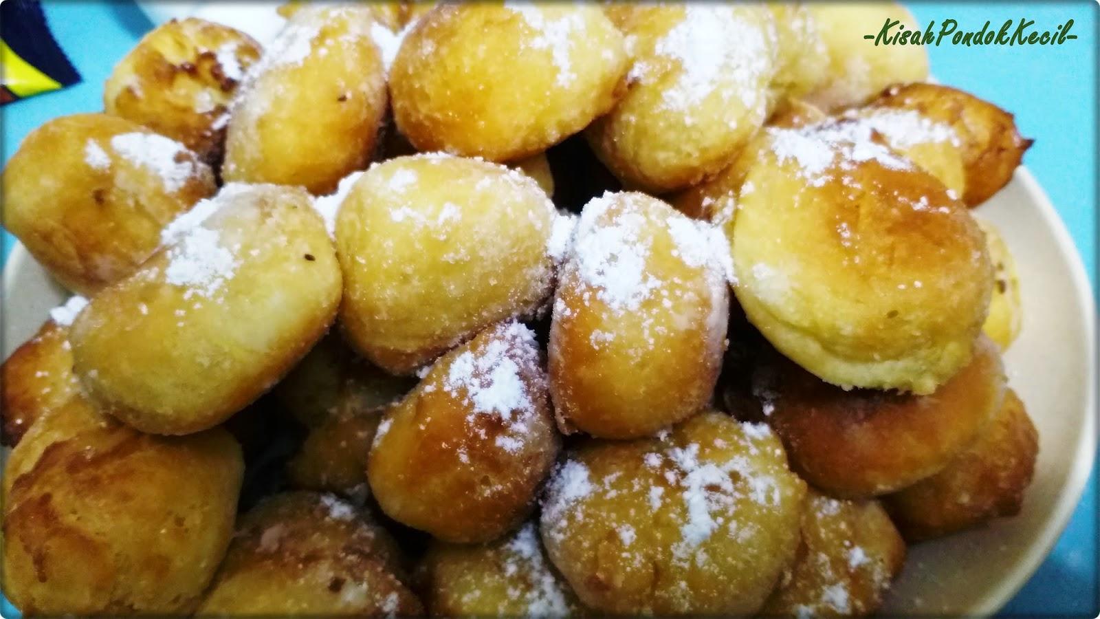 Resepi Donut Simple Lembut dan Gebu