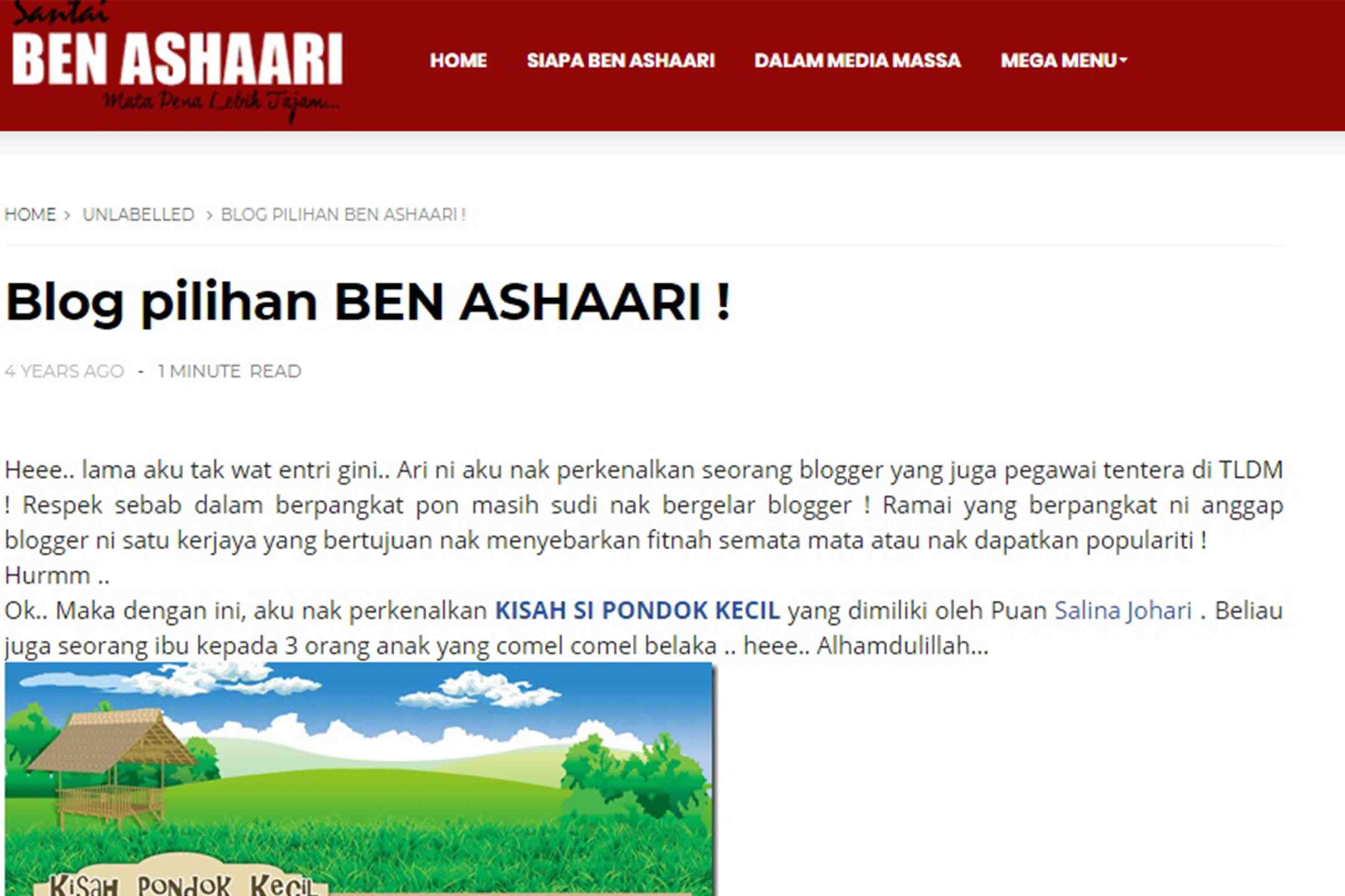 Tips Nak Jadi Blogger Terkenal