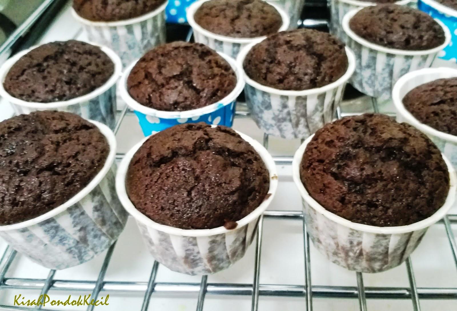 Muffin Chocolate Resepi Ringkas