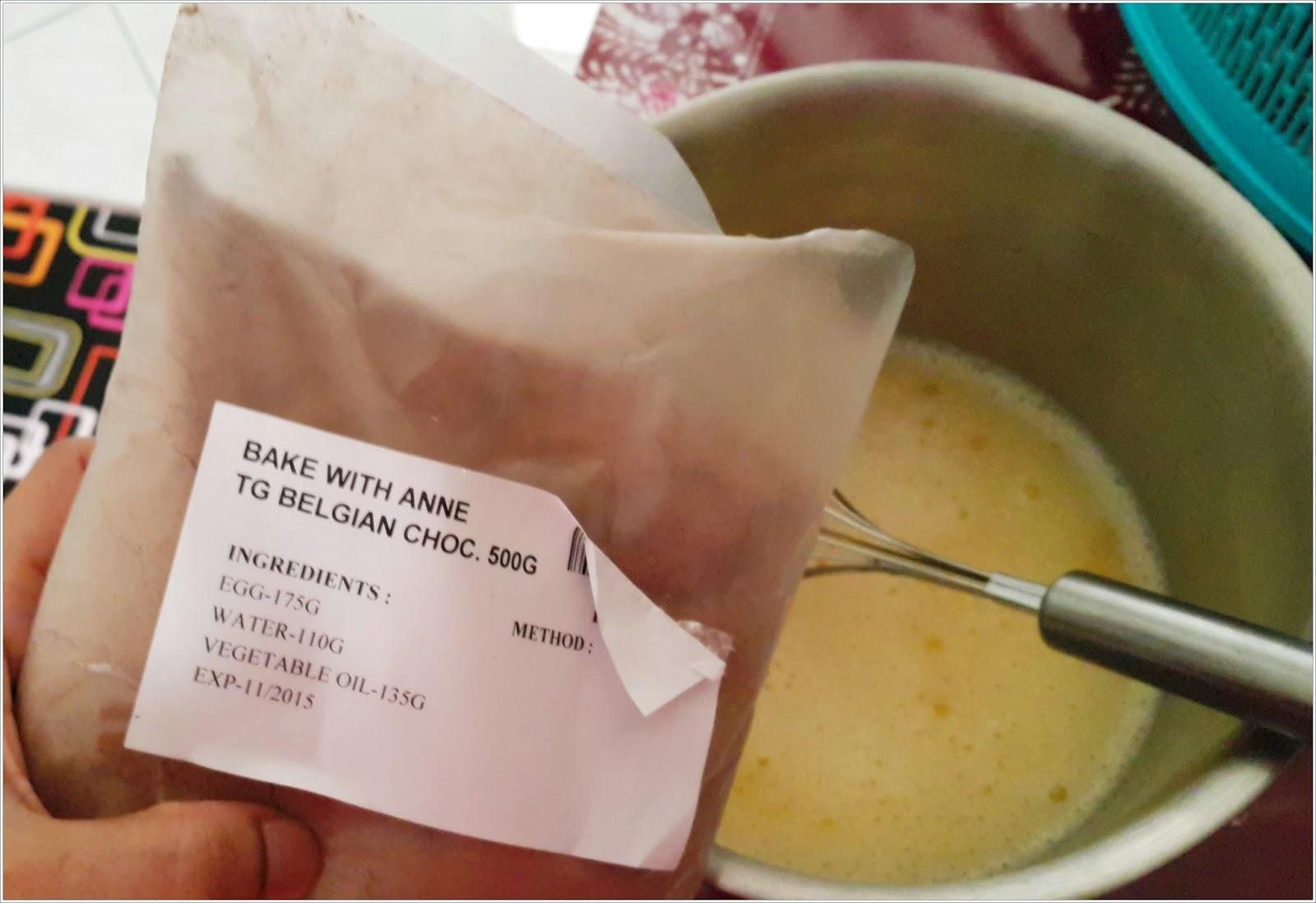 Resepi Kek Belgium Mudah