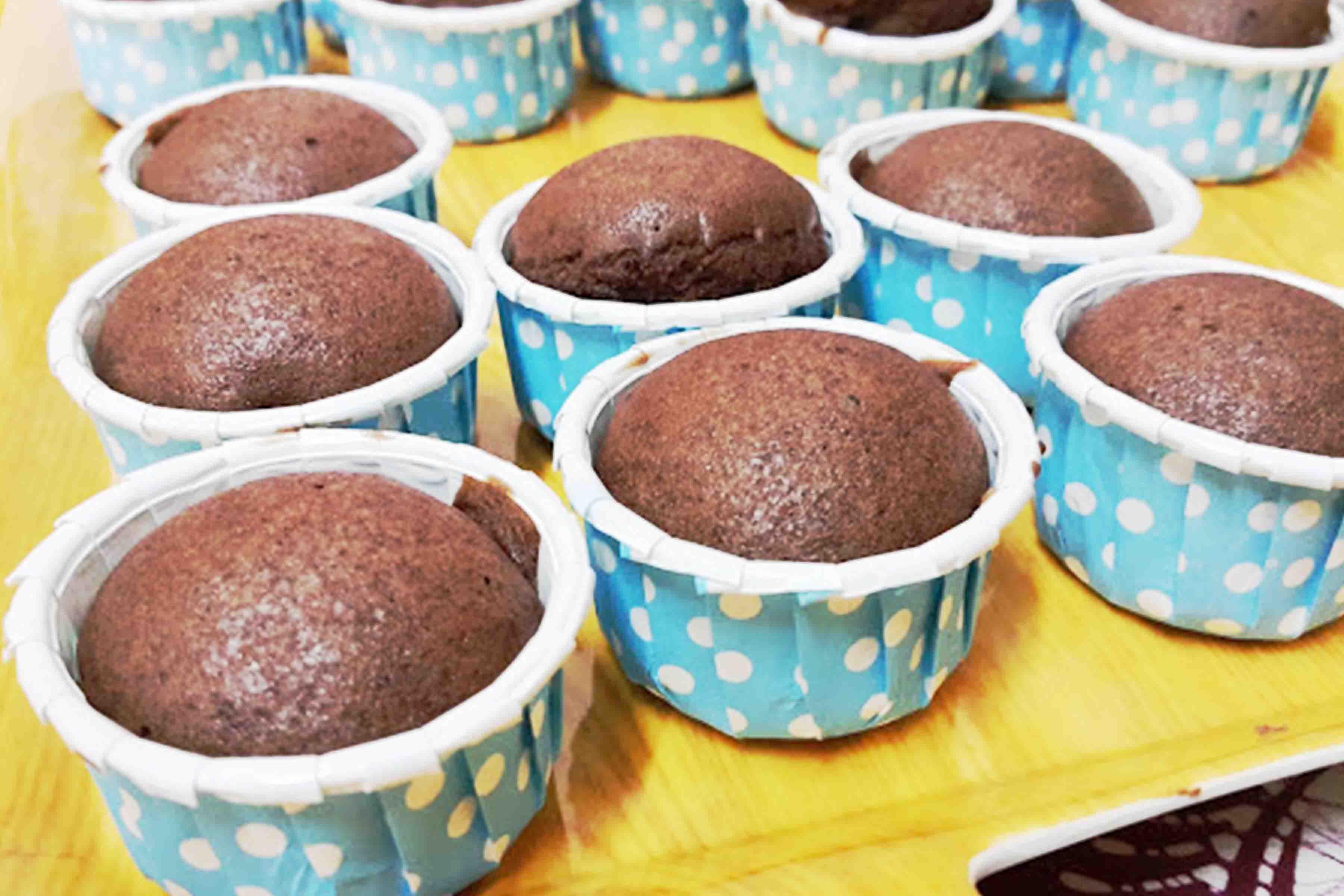 Muffin Choclate Versi Kukus