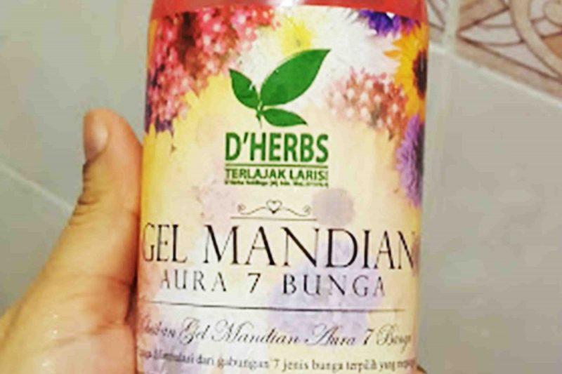 Gel Mandian Aura 7 Bunga