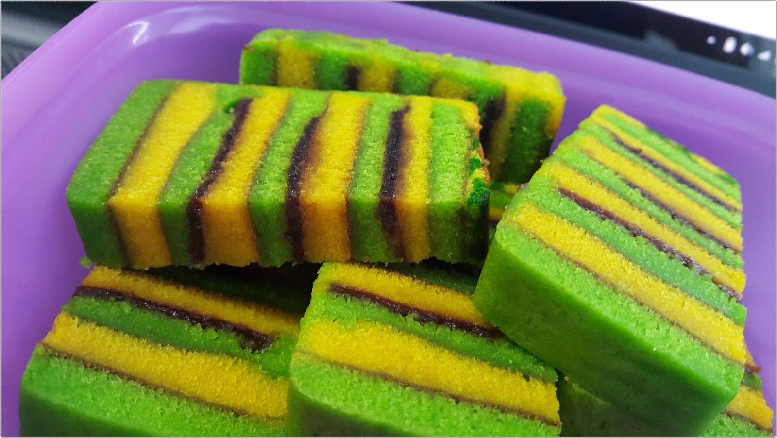 Kek Lapis Sarawak Basah Sedap Asma Cake House