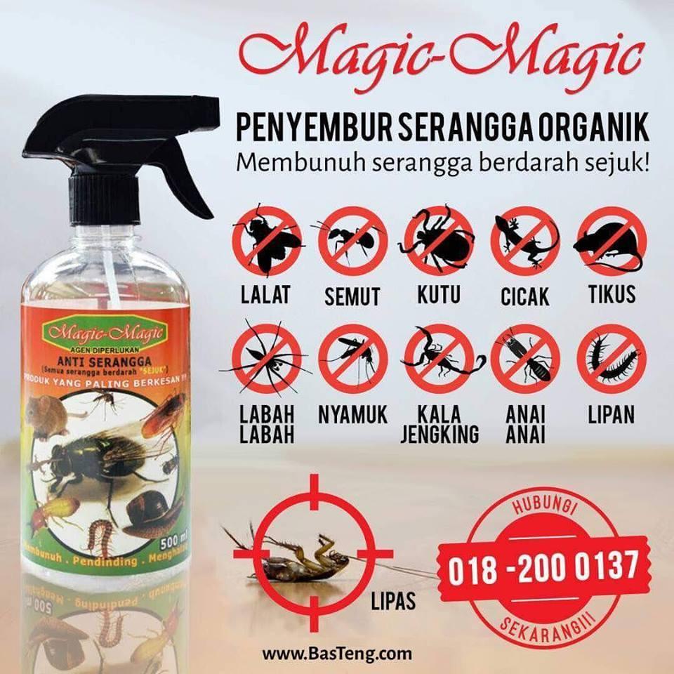 Semburan Anti Serangga Magic Magic