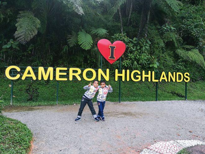 Percutian Singkat di Cameron Highlands