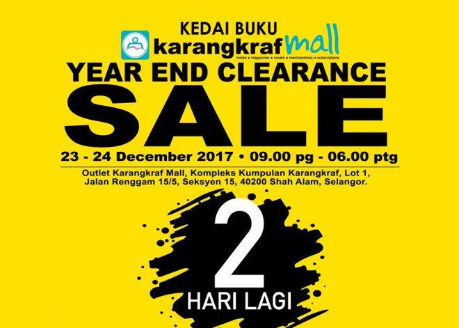 Harga Serendah RM1 Jualan Cuci Gudang Karangkraf Mall