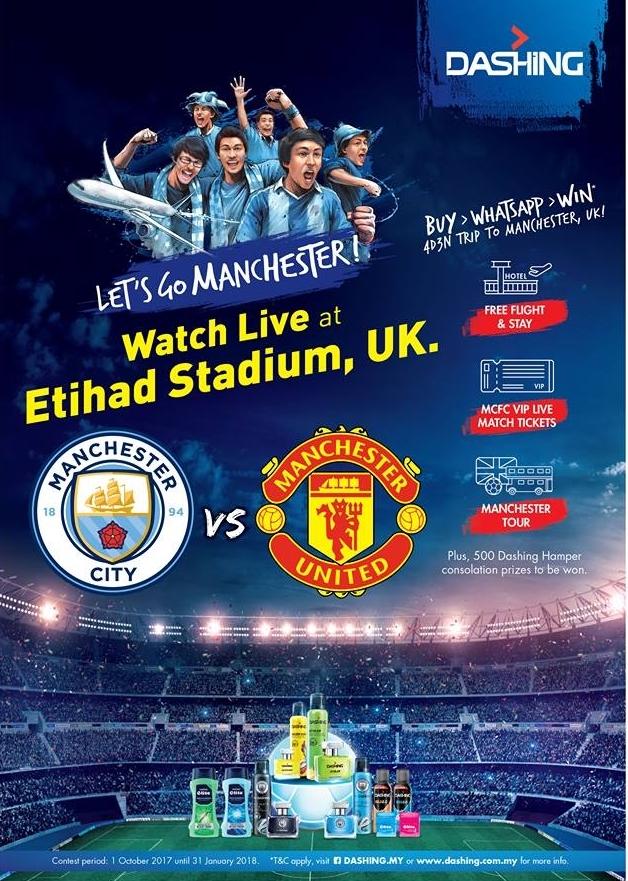 Jom ke Manchester secara percuma selama 4H 3M