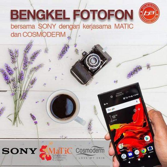 Bengkel Teknik Asas Fotografi Fotofon bersama KBBA9