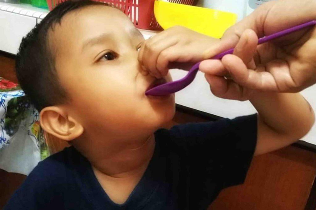 Tingkat Selera Makan Anak Dengan Bonnisan Himalaya