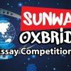 Pertandingan Menulis Sunway Oxbridge Essay 2018