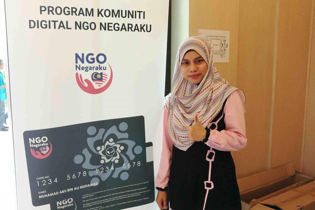 Program komuniti digital NGO negaraku