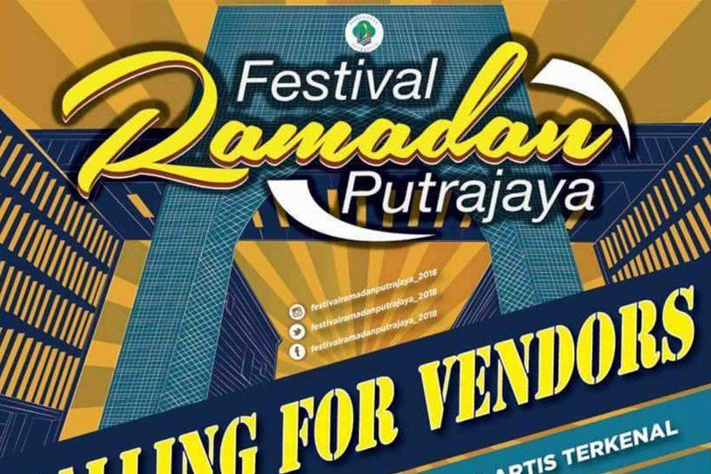 Jualan Barangan Raya Festival Ramadan Putrajaya 2018