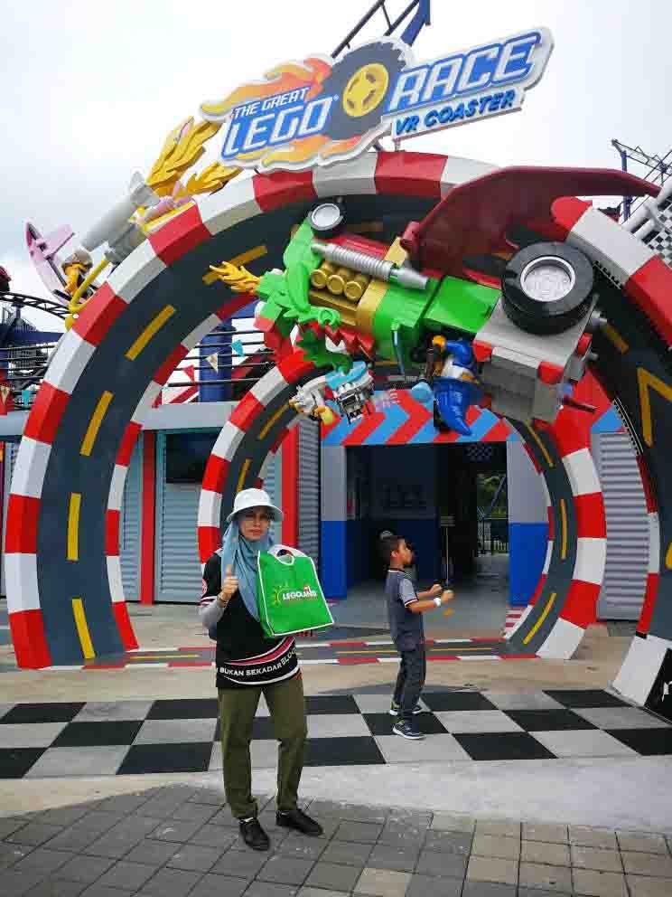 Tarikan Baharu LEGOLAND Malaysia | NINJAGO The Ride & LEGO VR Coaster