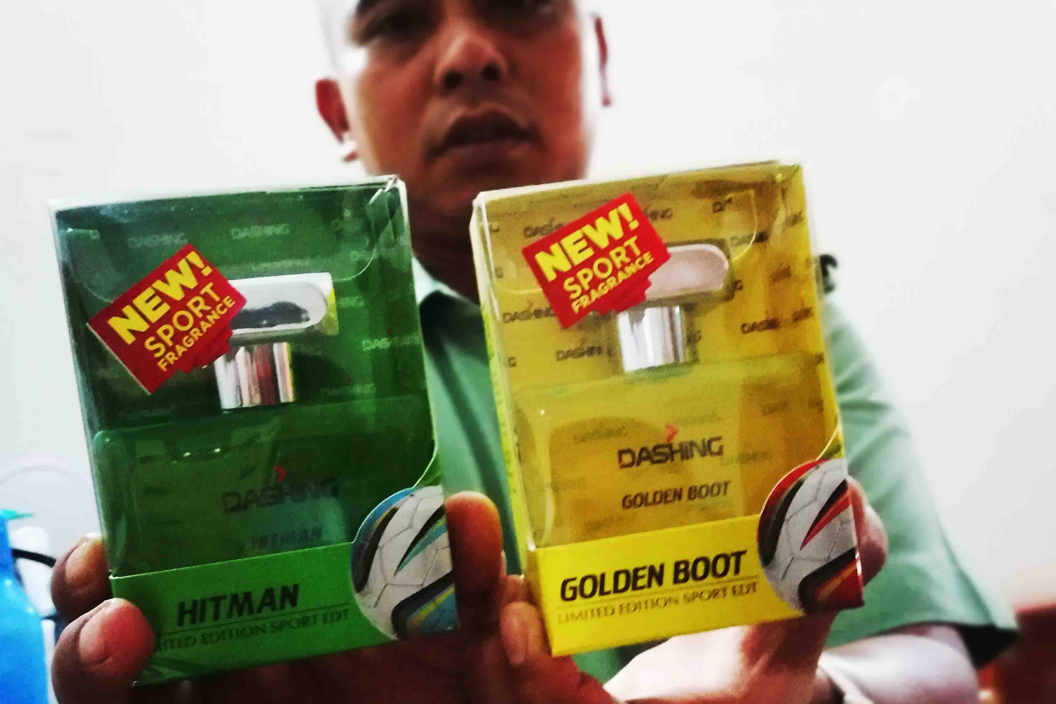 DASHING SPORT Eau De Toilette dan Deodoran Pilihan Lelaki Aktif
