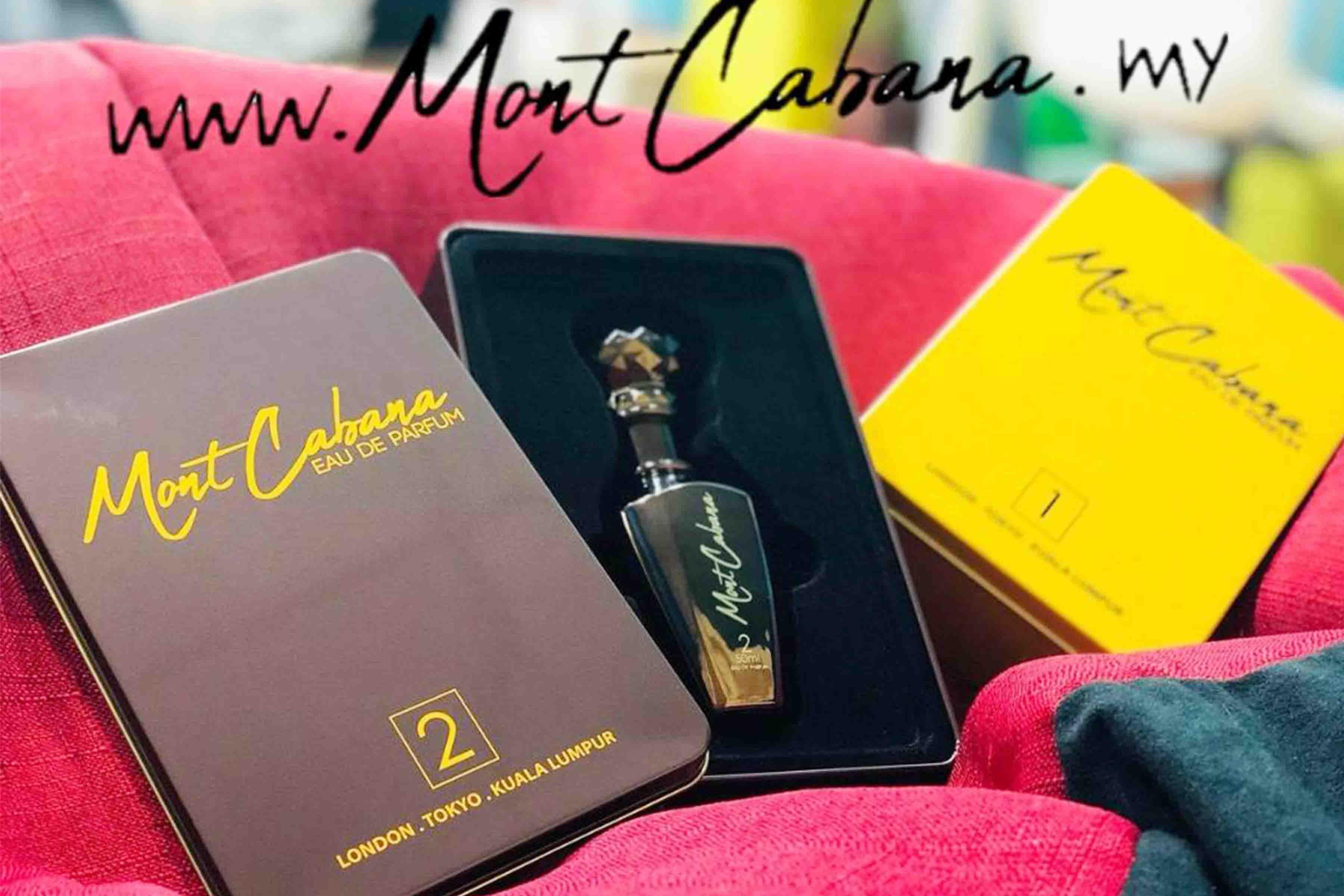Minyak Wangi Mont Cabana Eau De Parfum Dijamin Kualiti Wangian Mewah Dan Eksklusif