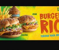 Burger Rio Kini Kembali Sempena Pelancaran Kempen 'Discover the World' McDonald's