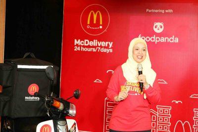 McDonald's Malaysia Perluas Rangkaian McDelivery Melalui Khidmat Penghantaran