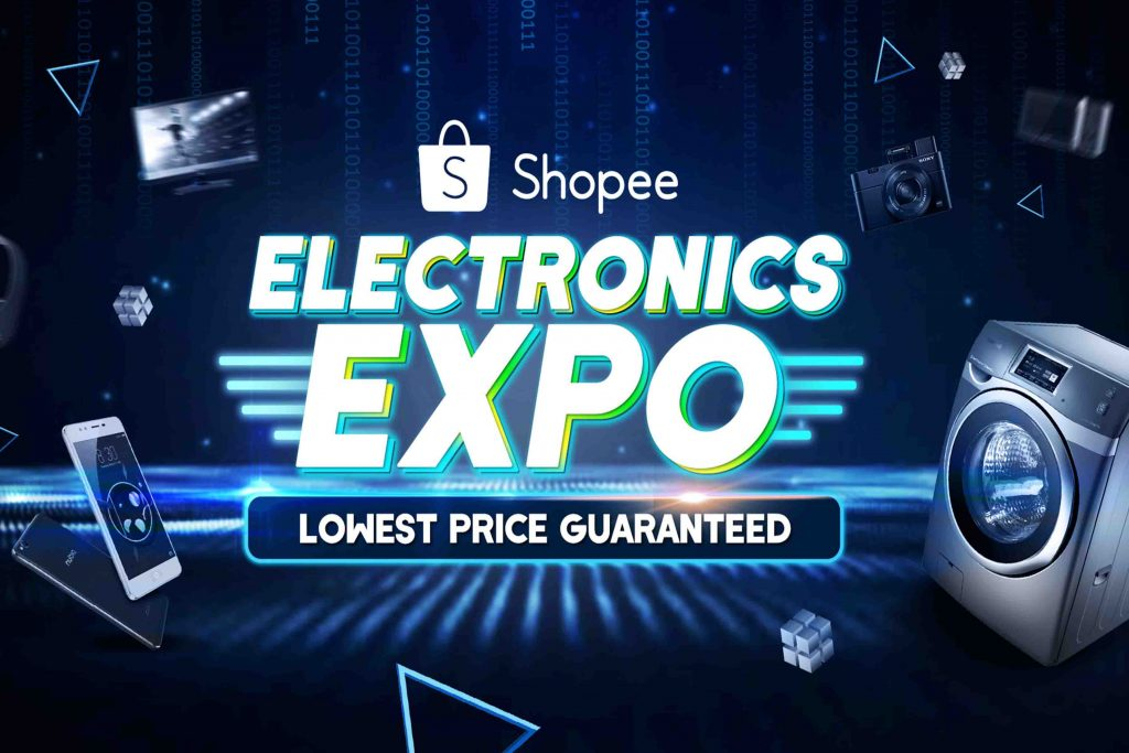 Dapatkan Potongan Harga Hangat di Ekspo Elektronik Shopee Julai Ini