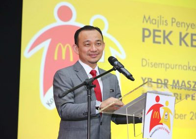 "McDonald's & RMHC - Pek ""Kembali ke Sekolah"""