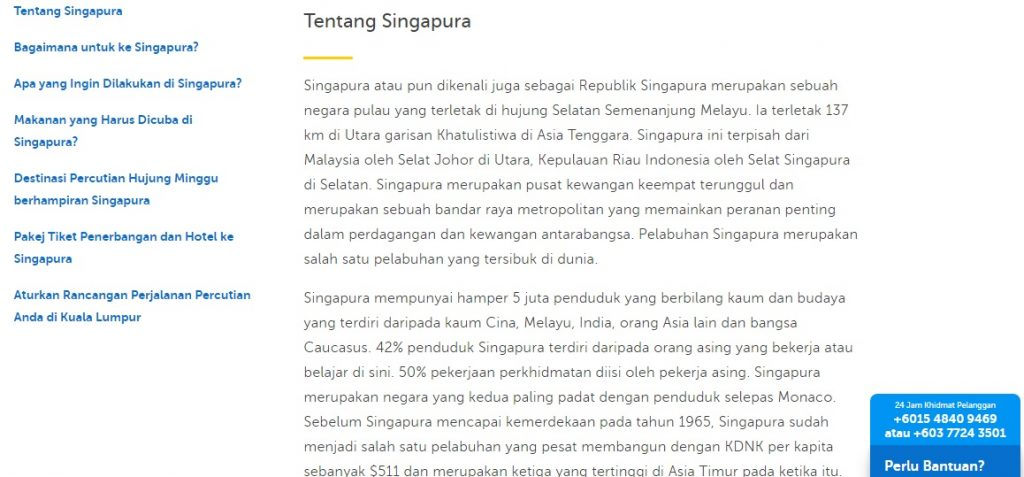 Singapore Tour Packages Bersama Traveloka Lebih Murah dan Jimat