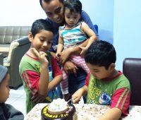 Salam Hari Ulang Tahun Kelahiran ke-7 Angah