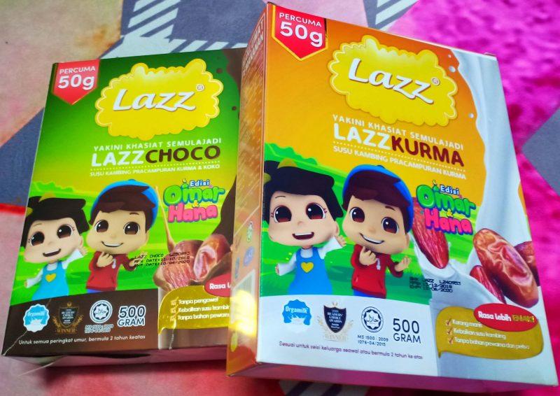 Lazz Susu Kambing Susu Kedua Terbaik Selepas Susu Ibu