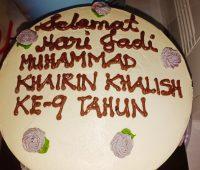 Majlis Simple Sambutan Kelahiran Khalish