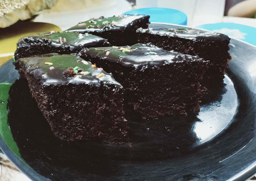 Kek Coklat Moist Kukus Resipi Mudah Confirm Jadi