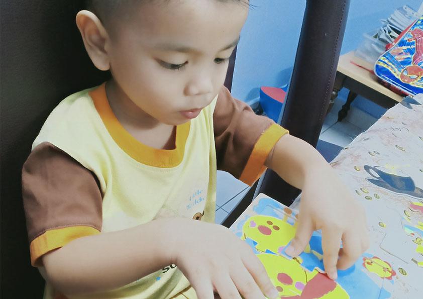 Anak Bijak Bila Bermain Jigsaw Puzzle