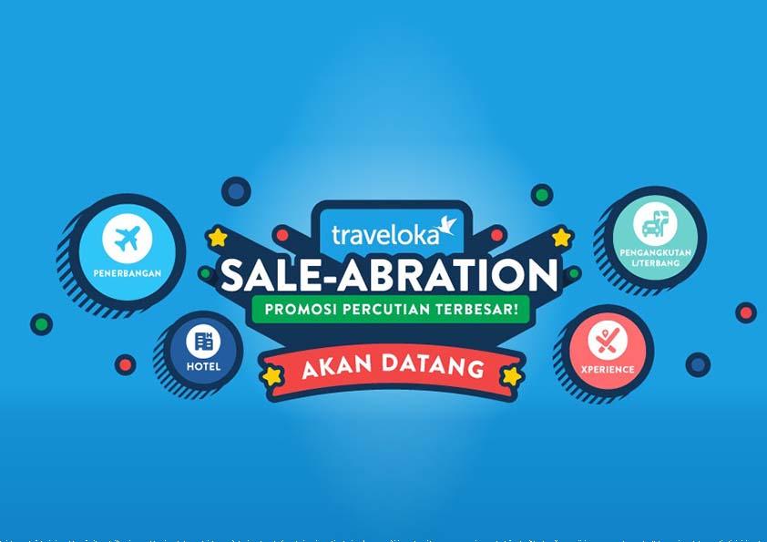 Traveloka Sale-abration Promosi Percutian Menjimatkan