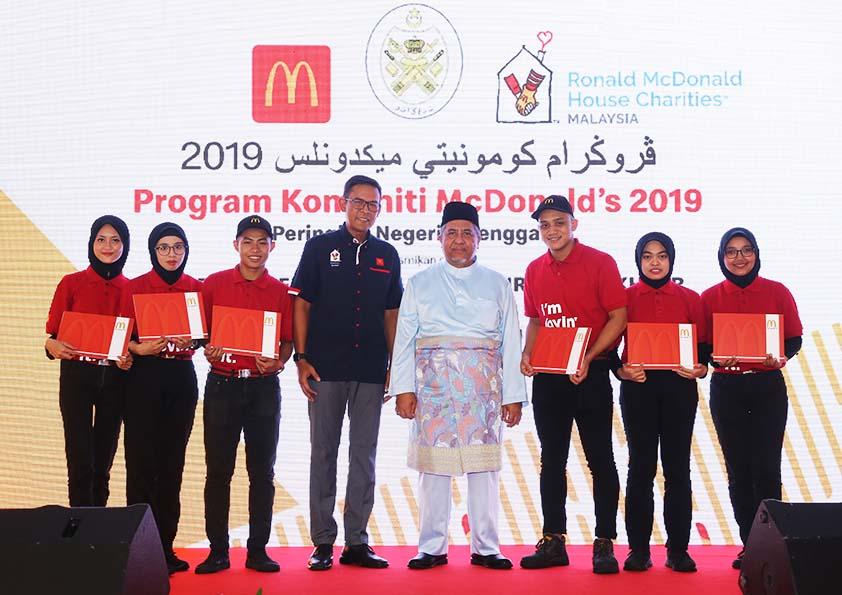 Program Komuniti McDonald's Bantu Rakyat Pantai Timur