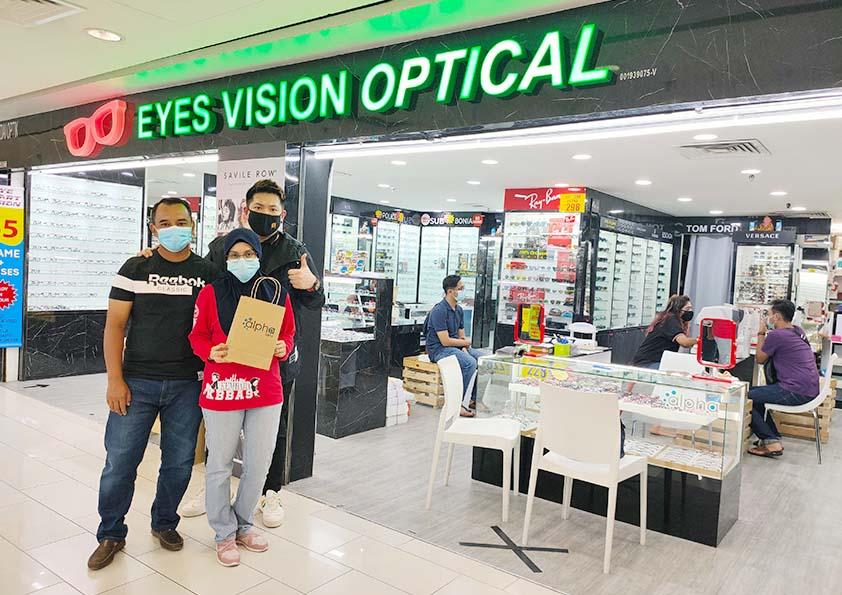 Kenapa Pilih Cermin Mata Eyes Vision Optical