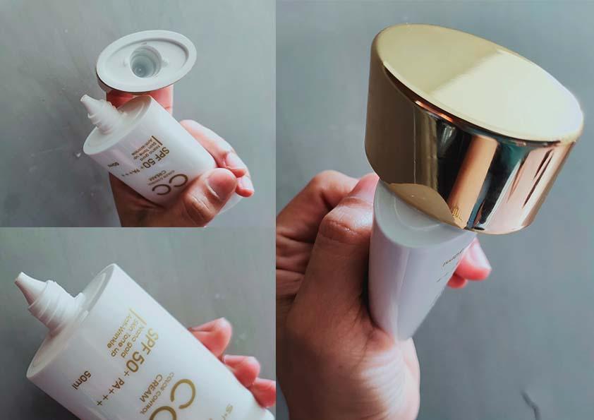Nano Gold CC Cream Hansaegee Nature