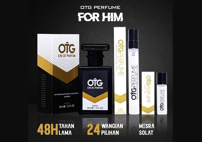 OTG Perfume Minyak Wangi Kekal Harum