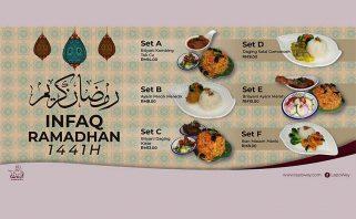 Projek Infaq Ramadan Bersama Dapur LapoWey
