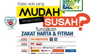 Bayar Zakat Fitrah Online Menggunakan Maybank2u