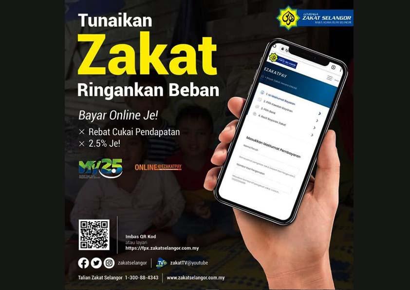 Zakat Cashless Ramadan LZS
