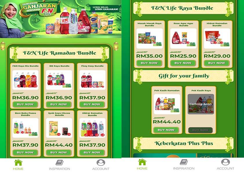 F&N Life Aplikasi Mudah Order Secara Online