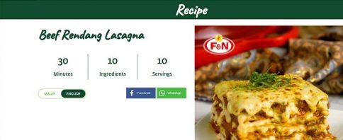 F&N Life Sedia Pelbagai Resipi dan Tips Masakan