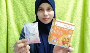 Badan Lebih Sihat Dengan Vitamin C+ Shine 1000mg Produk Kitsui